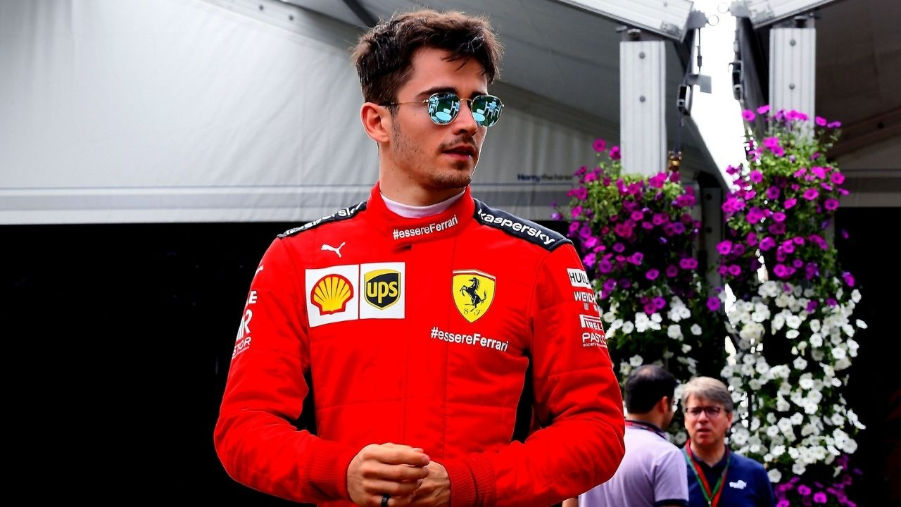"""""""It's not the same image like I have of Michael Schumacher""""- Charles Leclerc on Lewis Hamilton"""
