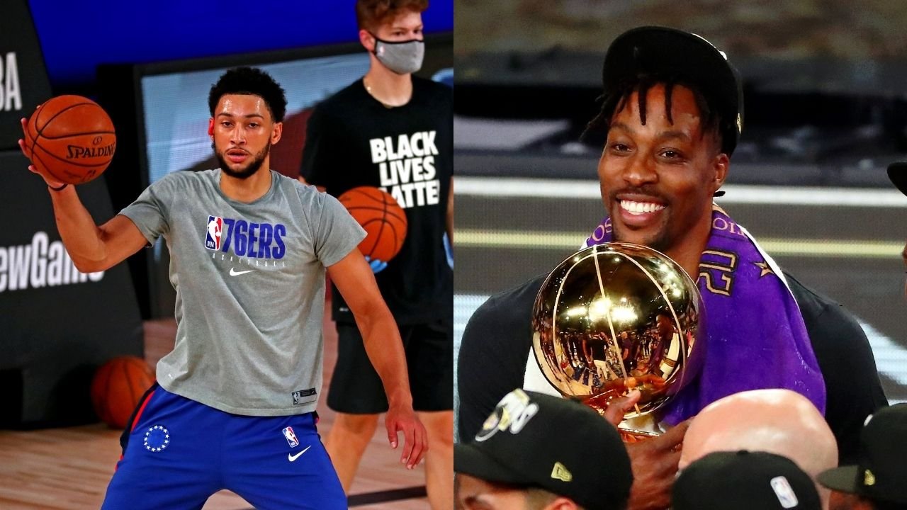 'Ben Simmons is a young LeBron James': Former Lakers center Dwight Howard heaps praise on Sixers teammate
