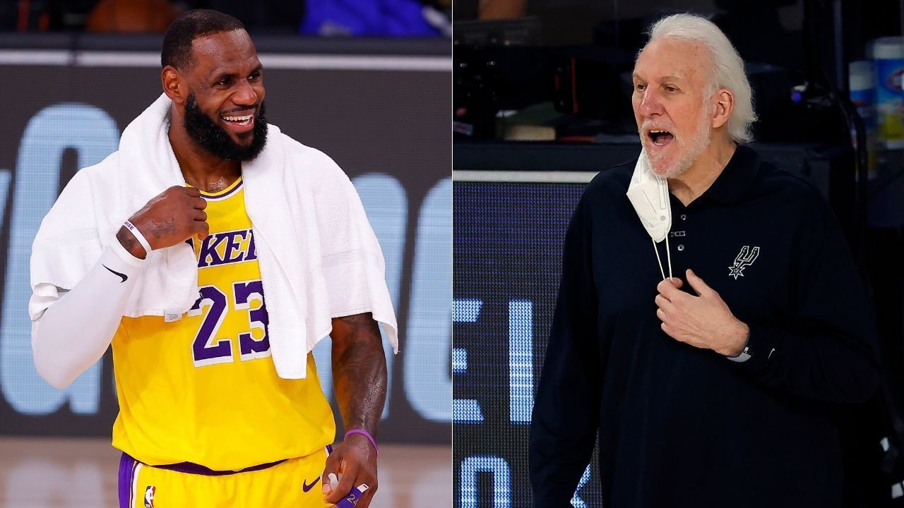 Gregg Popovich hates the Lakers': DeMar DeRozan won't be able to team up with LeBron James because of 'Pop'
