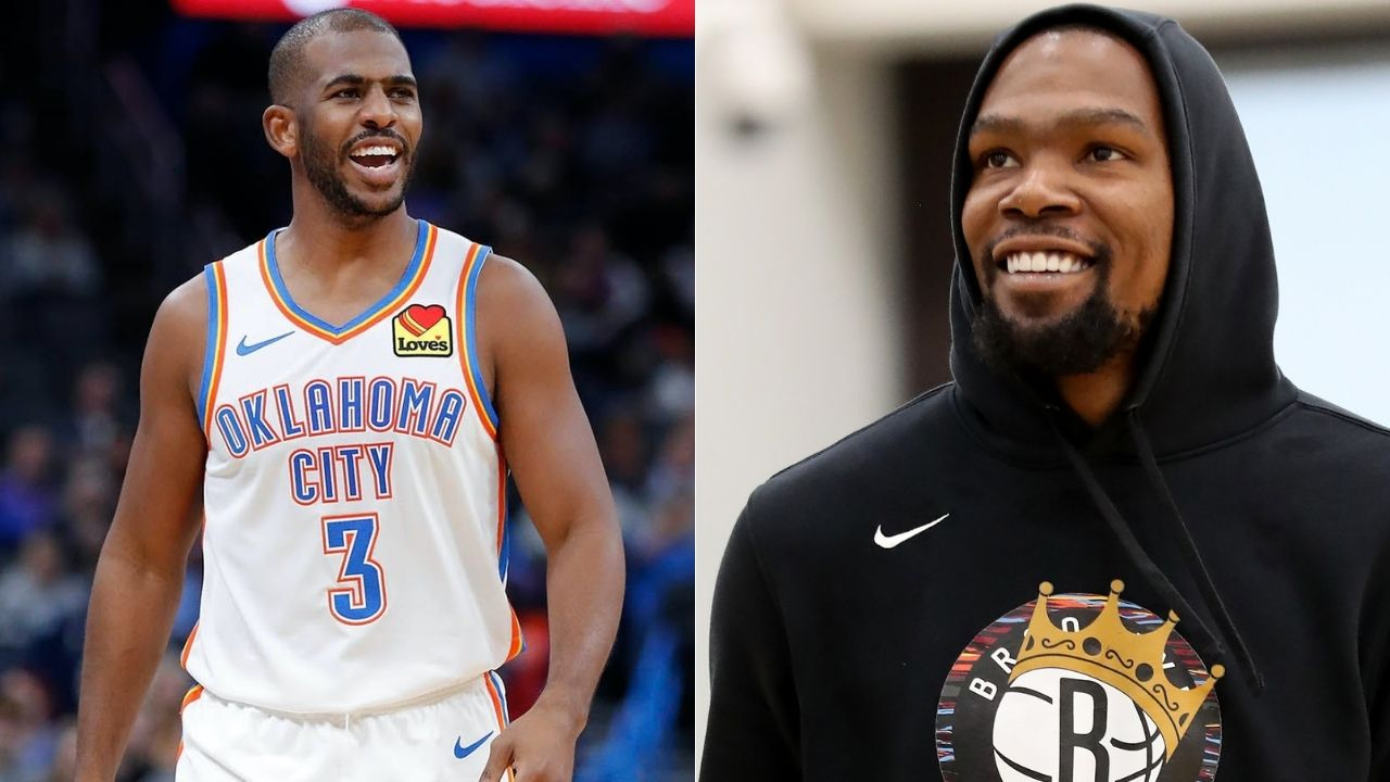 Kevin Durant explains if CP3 should move to Lakers and join LeBron James