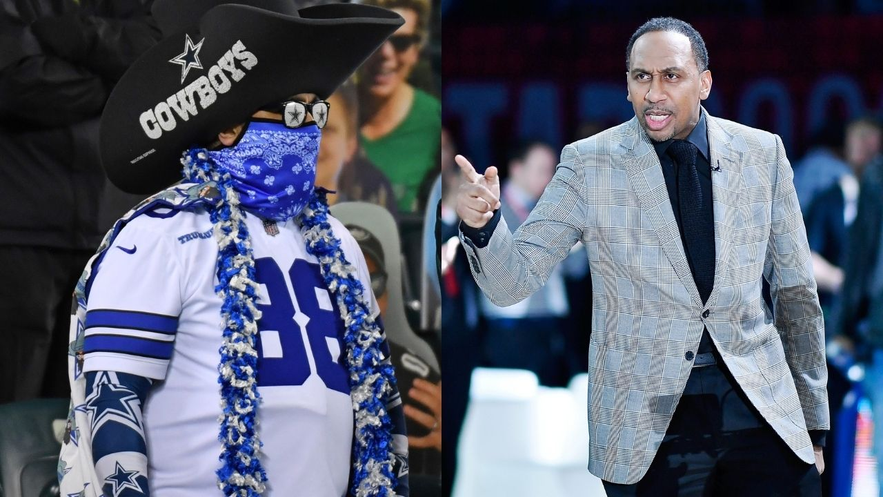 """'Cowboys Fans make me Sick', Stephen A Smith trashes the Cowboys and """"despises"""" their fans"""
