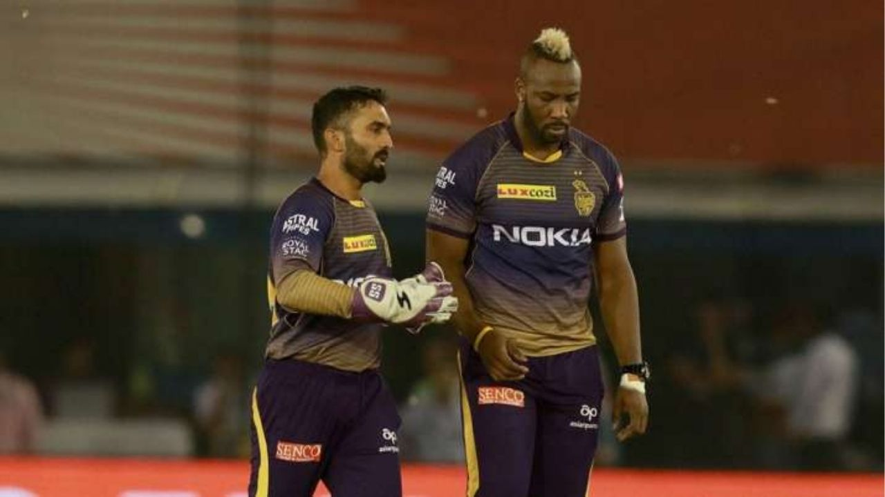 Is Andre Russell playing today's IPL 2020 match vs Rajasthan Royals?