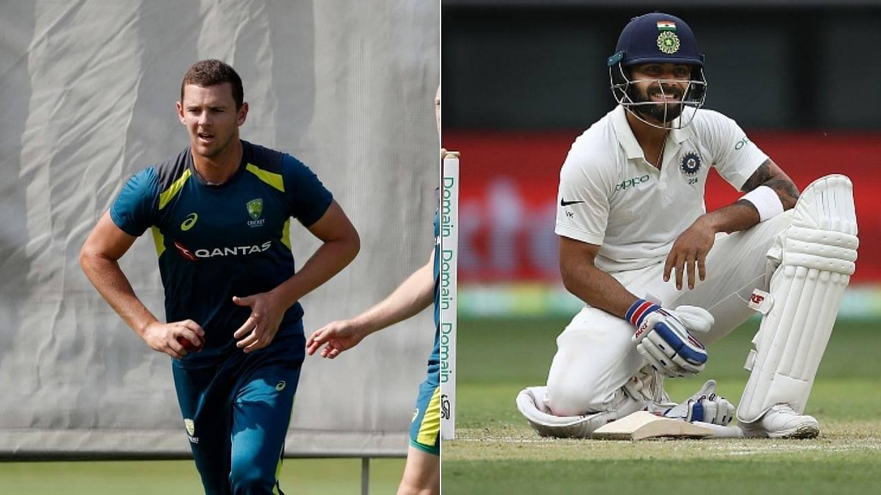 """Don't think Virat's absence will hurt India,"" says Josh Hazlewood on Virat Kohli missing three Tests in Australia"