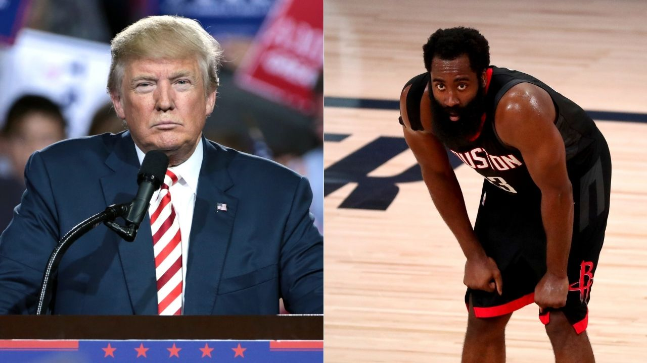 James Harden leaving Rockets because of Donald Trump connection