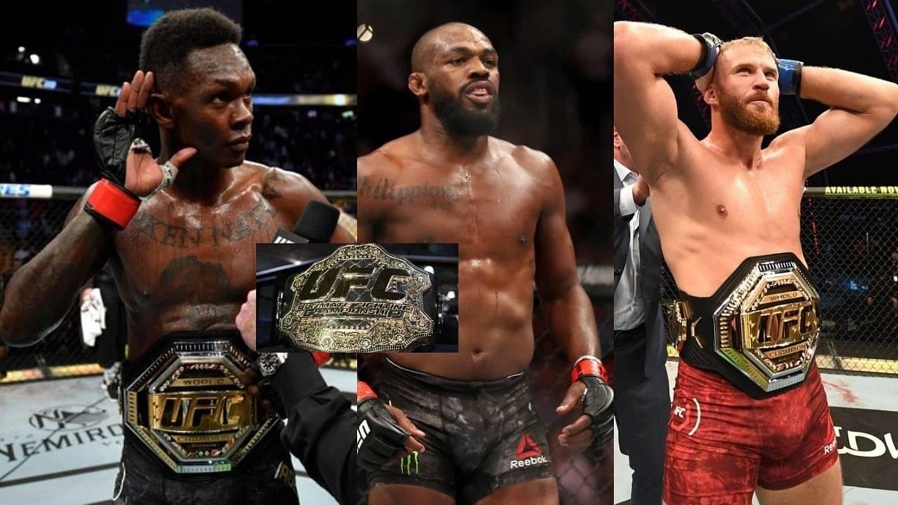 'Three Belts At The Same Time': Israel Adesanya Eyes Both The Heavyweight Titles