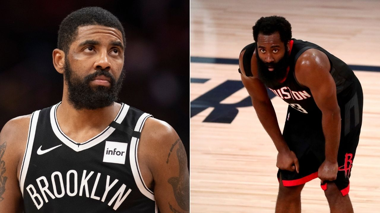 Kyrie Irving Will Be Hating James Harden In One Game Skip Bayless Goes Off On Rockets Star Wanting To Join Nets The Sportsrush