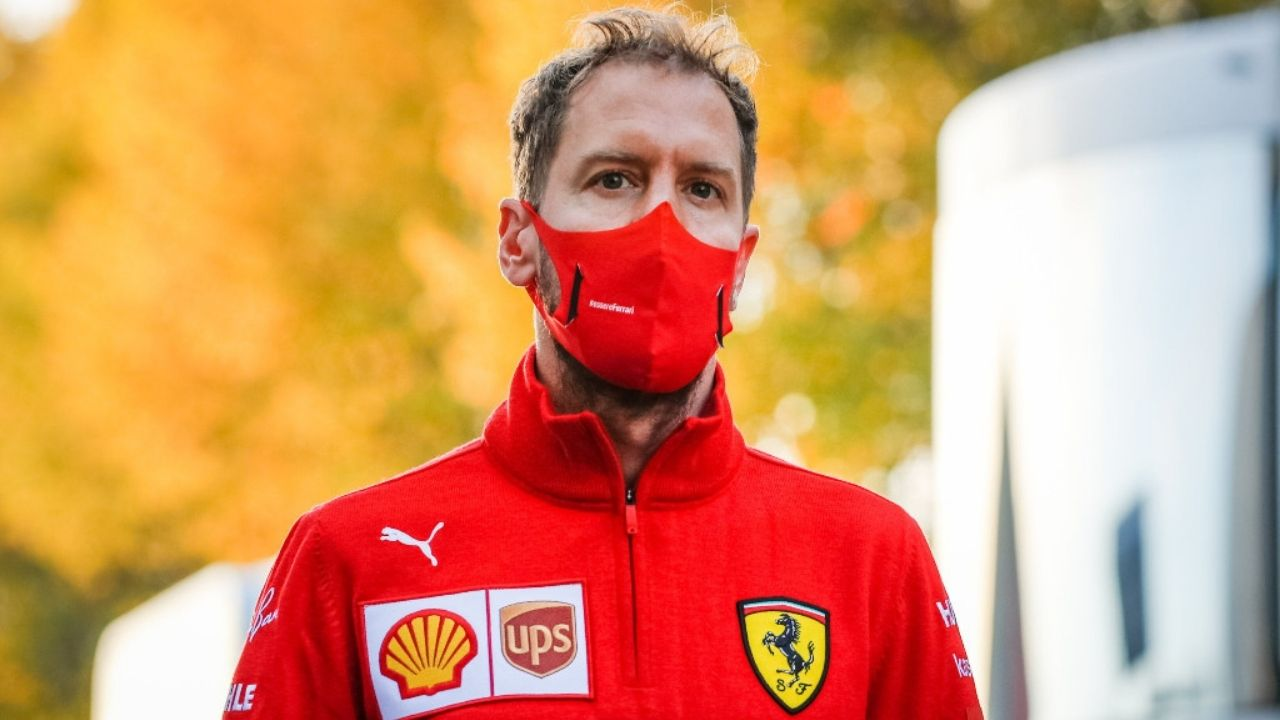 """""""I have not forgotten how to drive""""- Sebastian Vettel whether criticism affecting his self confidence"""