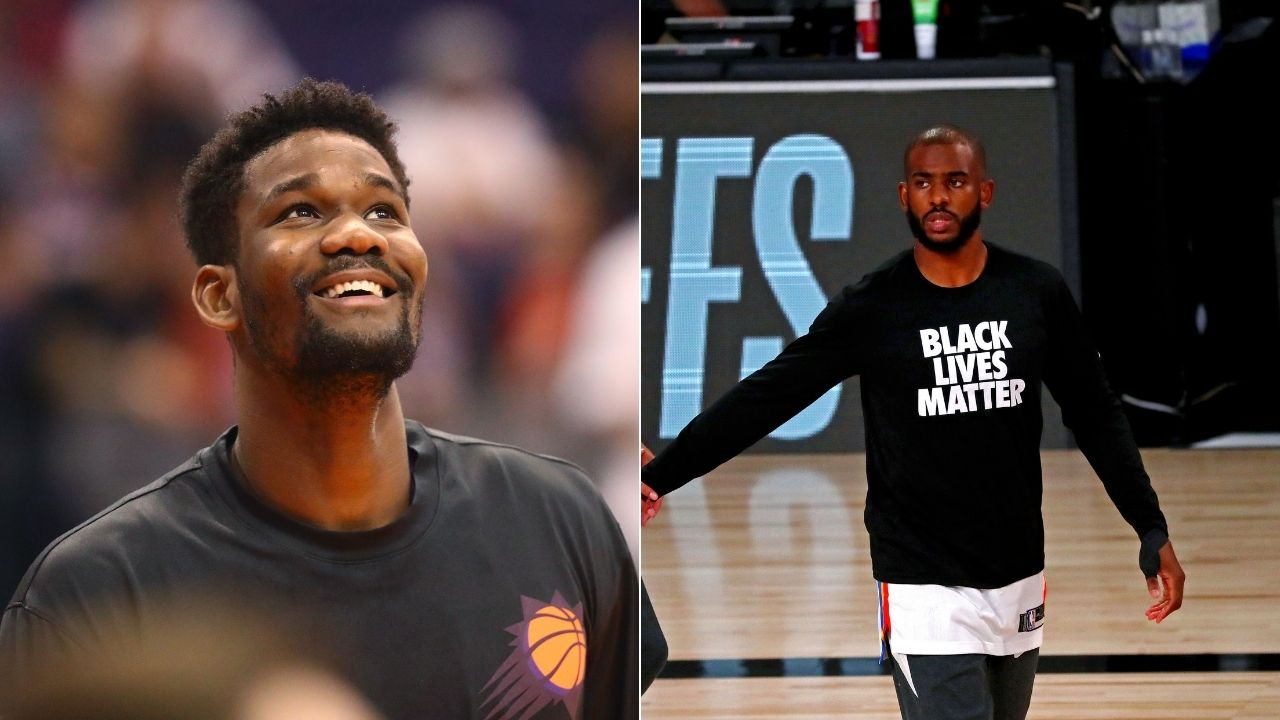 """""""I was so happy, I wanted to do a backflip""""- Deandre Ayton's reaction after learning of Chris Paul trade to Suns"""
