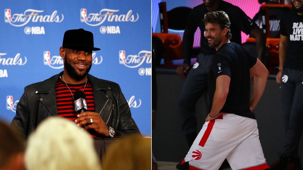 """""""Marc Gasol has my Defensive Player of the Year trophy""""- LeBron James pokes fun at new Lakers teammate"""