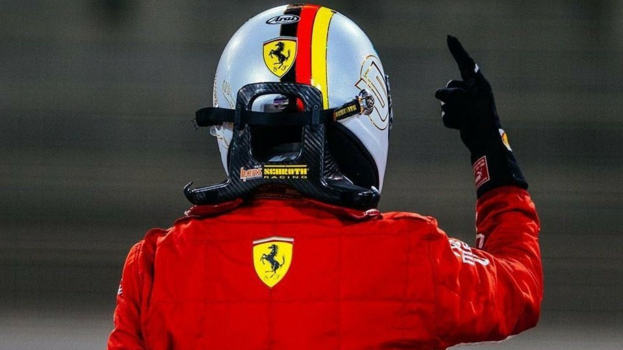 Sebastian Vettel sings farewell song after end of Abu Dhabi Grand Prix