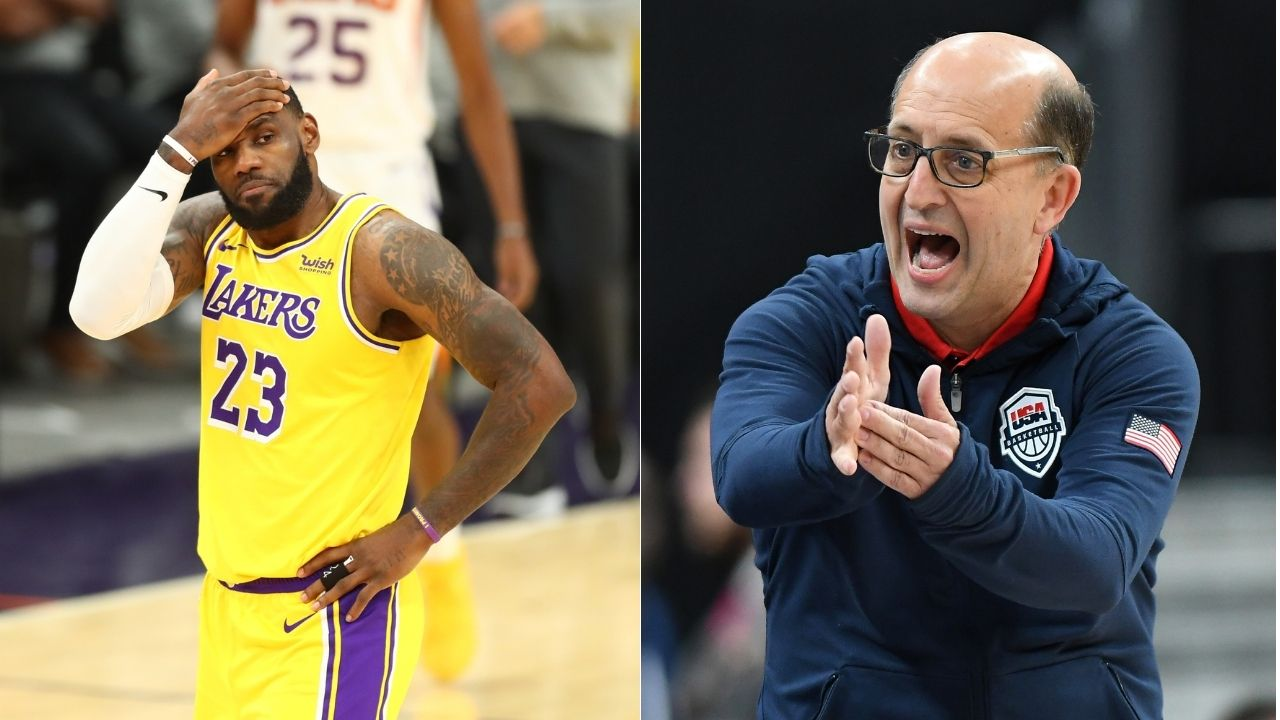 """Did LeBron James just airball a free throw?"": Jeff Van Gundy, NBA fans roast Lakers star for Shaqtin a Fool sequence vs Mavericks on Christmas Day"