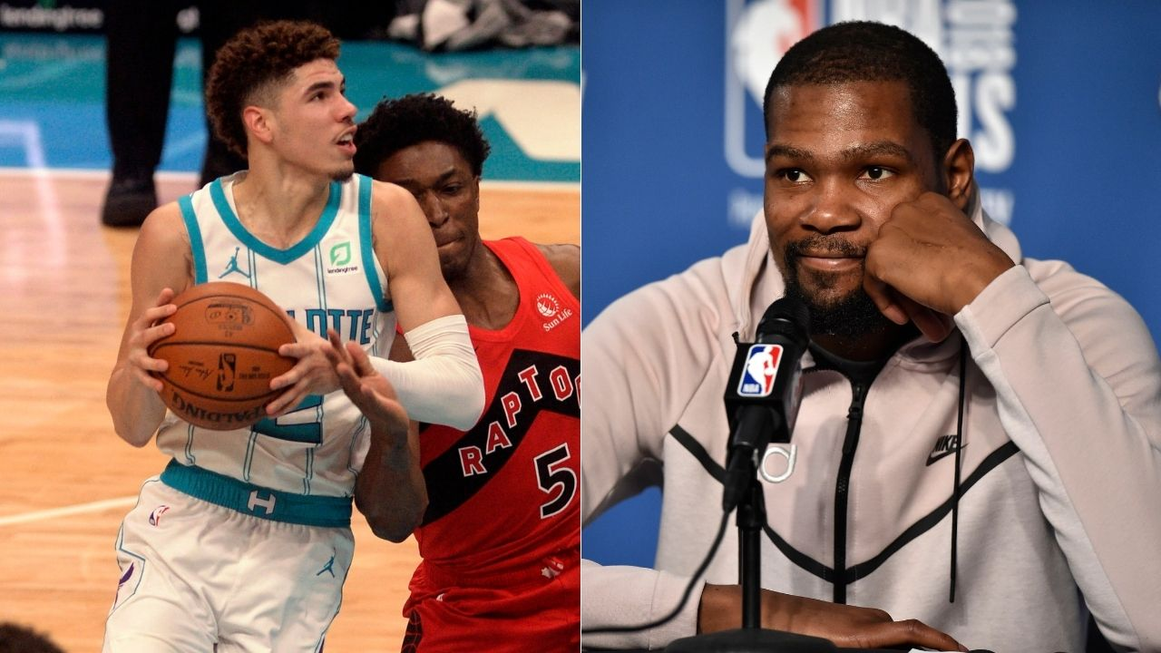 'Going pro early was beneficial for LaMelo Ball': Nets star Kevin Durant supports Ball brother's decision to play overseas