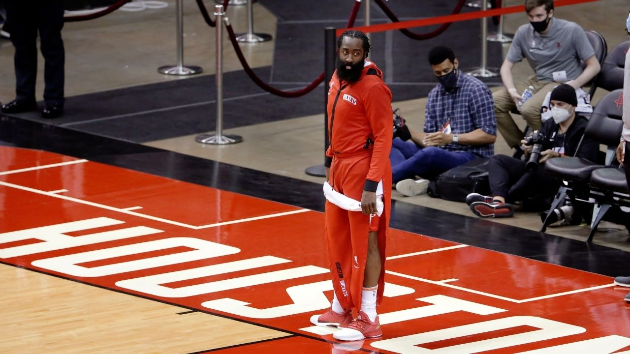 'I was training with my personal trainers': James Harden gives oblique reply as to why he joined Rockets late