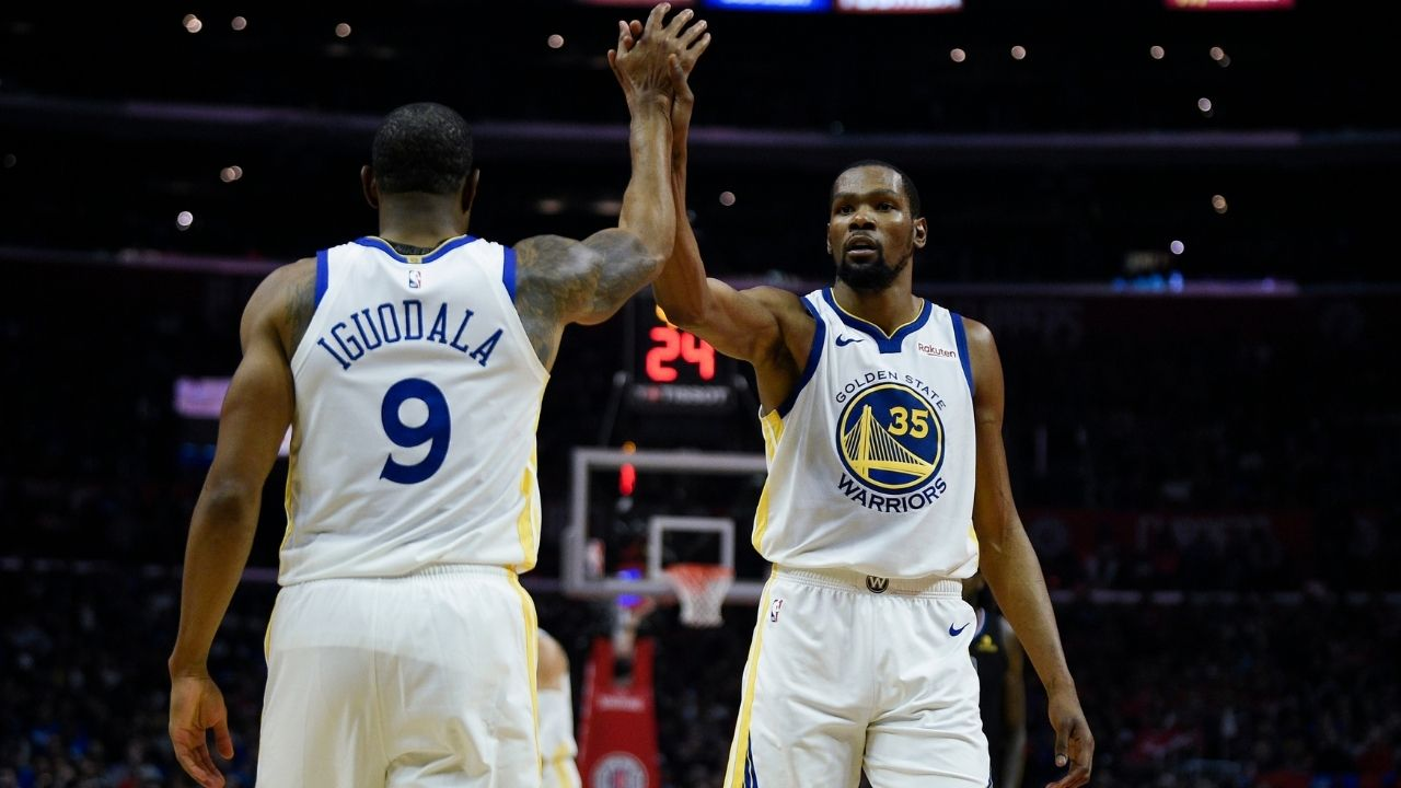 Kevin Durant denies rumors he tried to recruit James Harden to the Nets