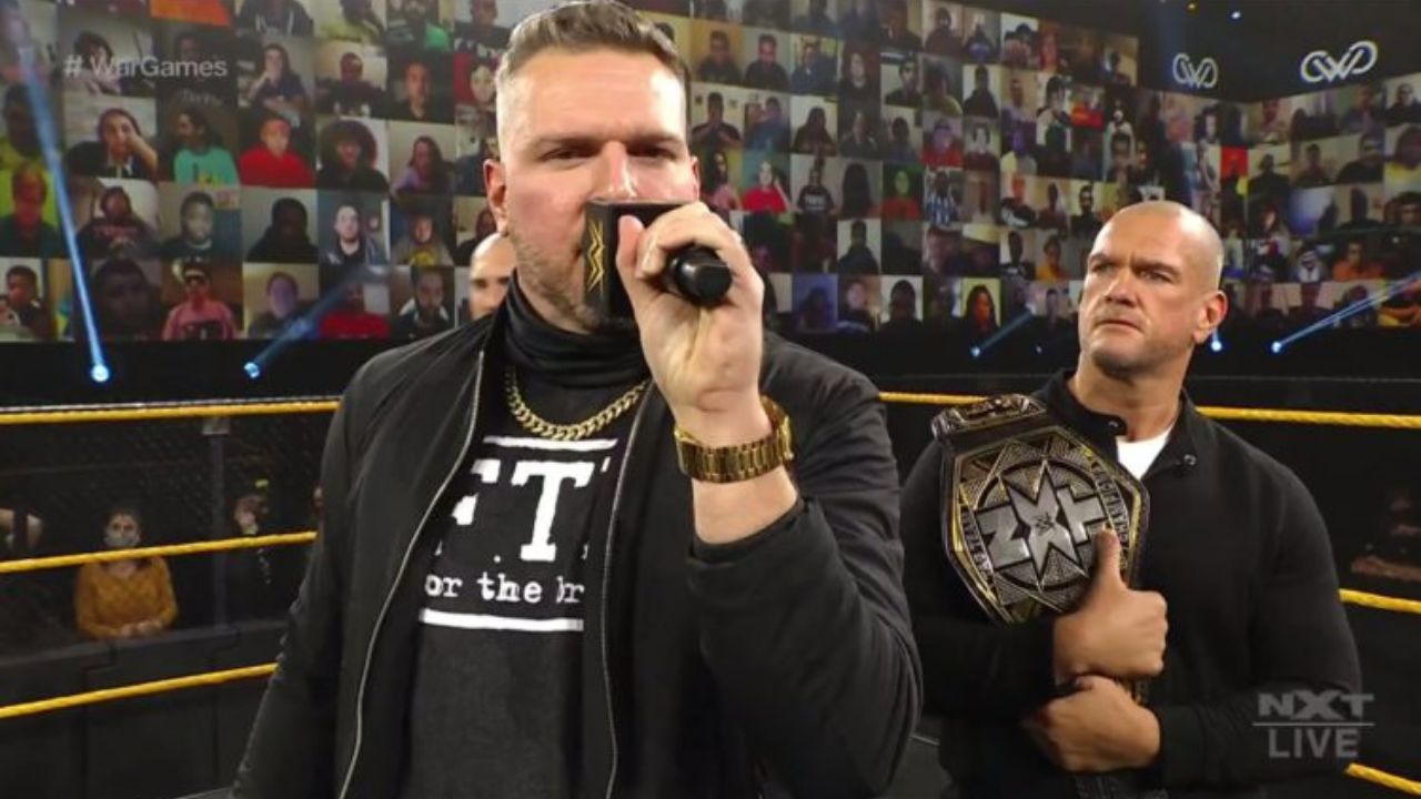 Pat McAfee comments on whether he'll continue wrestling beyond NXT TakeOver WarGames