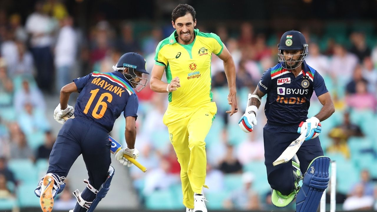 Why is Mitchell Starc not playing today's 3rd ODI between Australia and India?