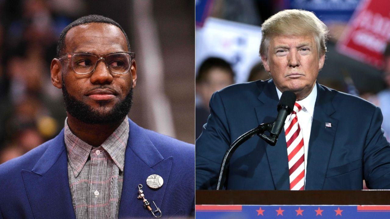 """""""Donald Trump is more admired in USA than LeBron James?"""": Lakers superstar placed shockingly low on list of top 10 beloved Americans"""