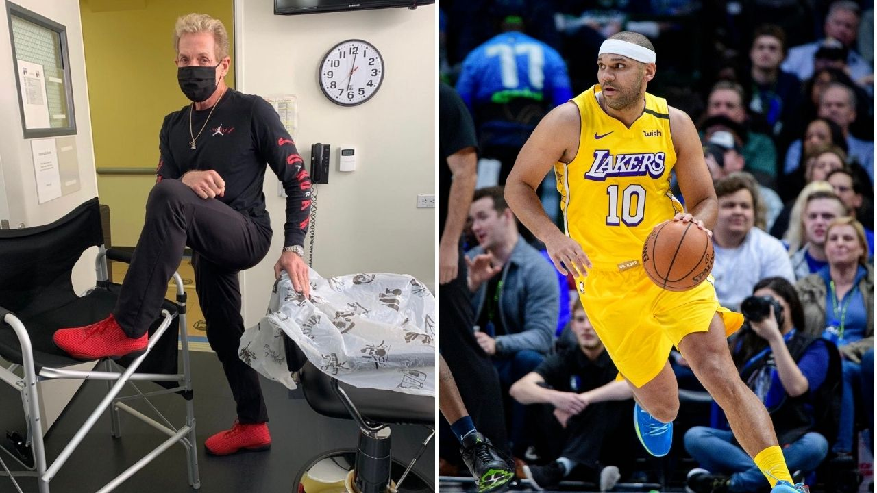 'LeBron James was the MVP last season': Skip Bayless doesn't like Jared Dudley pushing Lakers star Anthony Davis for MVP
