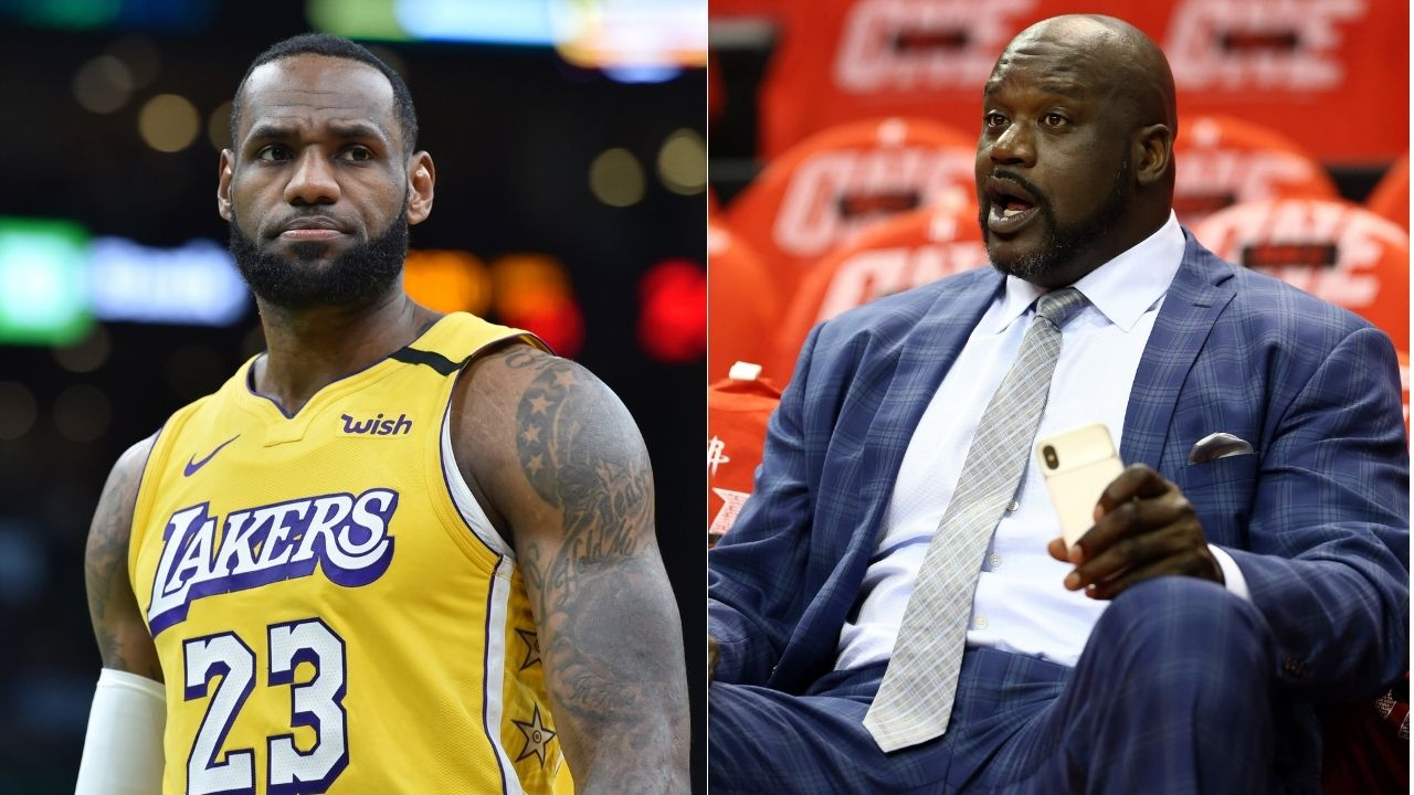 """""""No one is beating this lineup"""": Shaquille O'Neal has Michael Jordan, LeBron James and Kobe Bryant in his Unbeatable 5 lineup"""