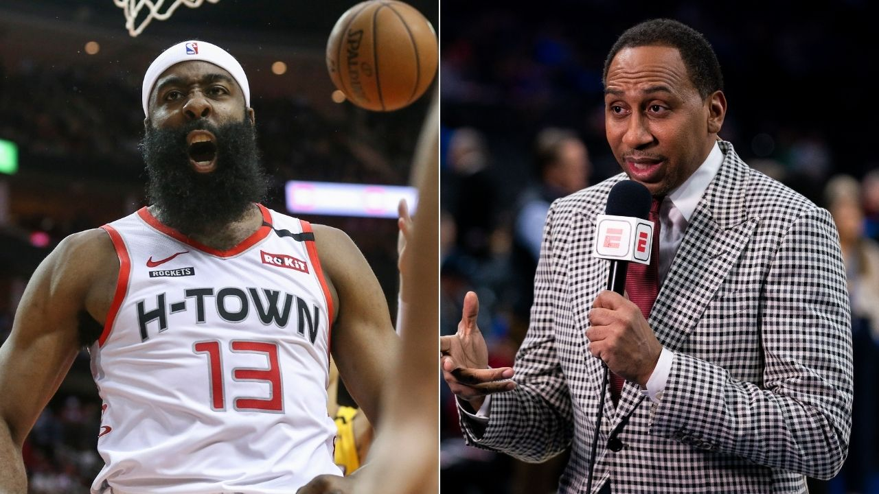 """""""76ers should trade Ben Simmons for James Harden"""": Stephen A. Smith proposes trade for disgruntled Rockets star"""