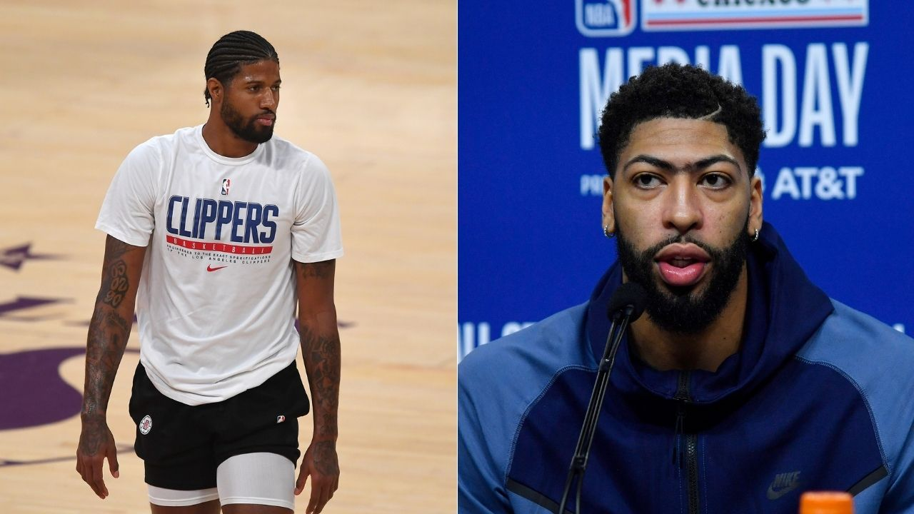 'The Paul George and Indiana thing, it was a conversation': Lakers' Anthony Davis confirms Clippers star's story regarding trade to Pacers