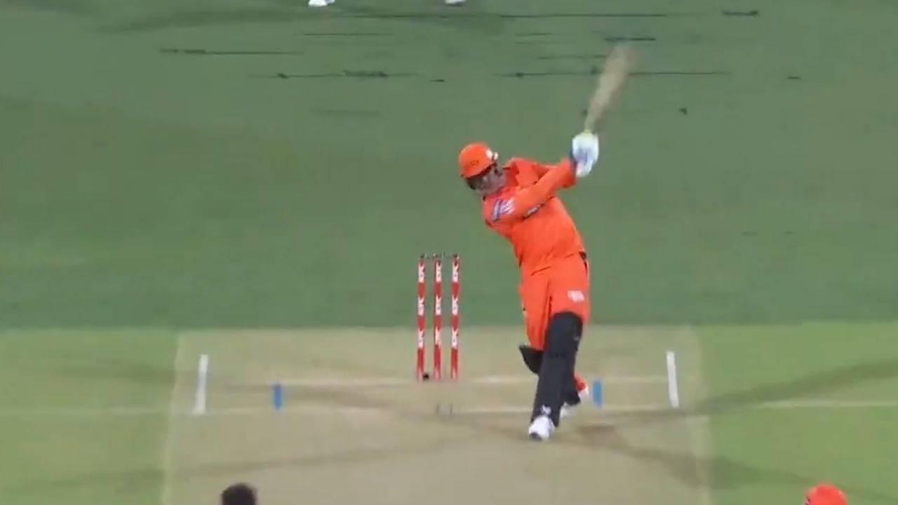 Jason Roy Perth Scorchers debut: Watch English batsman plays fiery cameo in BBL comeback