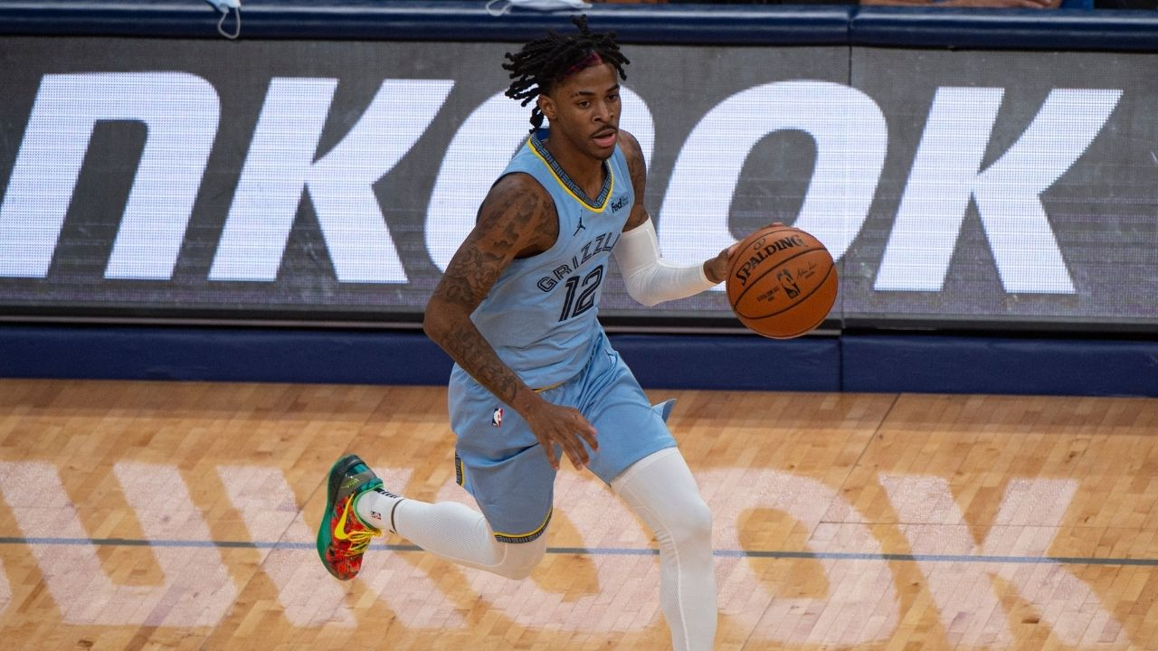 """Ja Morant is going to be the next D-Rose"": New angle shows why Grizzlies star had to go off court on a wheelchair with ankle sprain"