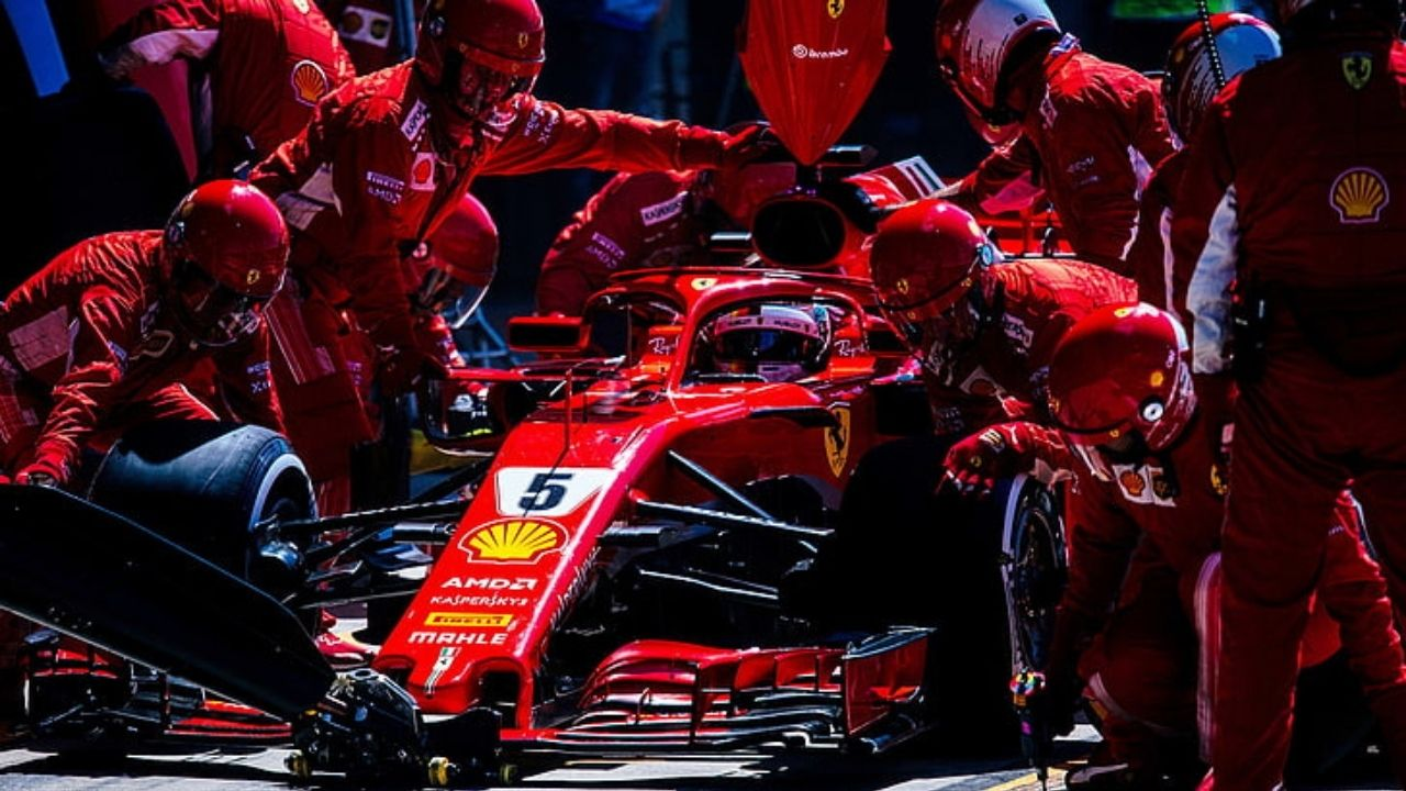 """""""The boys then always have to take the blame""""- Sebastian Vettel thinks Ferrari cars are not fast for pit stops"""