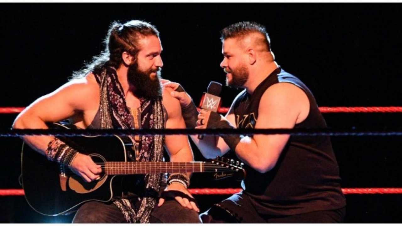 Elias recalls worrying he would get backstage heat for going over the allotted time during Seattle segment