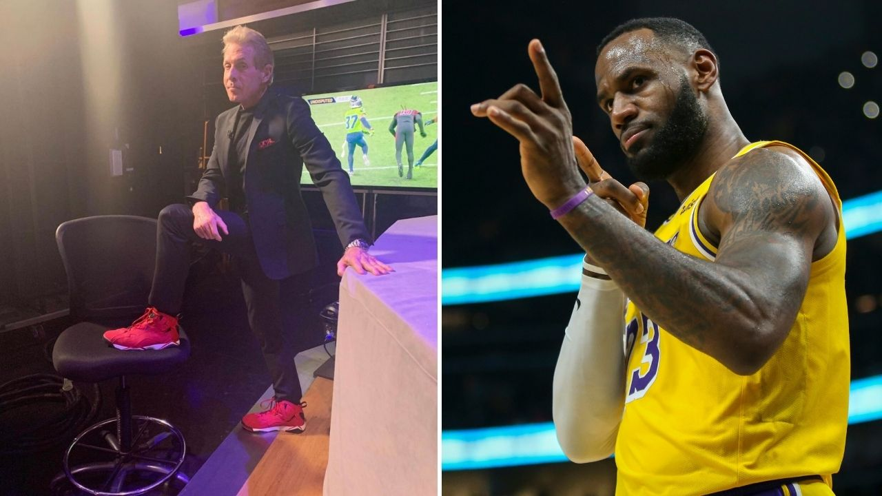 'A true GOAT like Tom Brady takes less money': Skip Bayless criticizes LeBron James for signing $85 million extension with Lakers