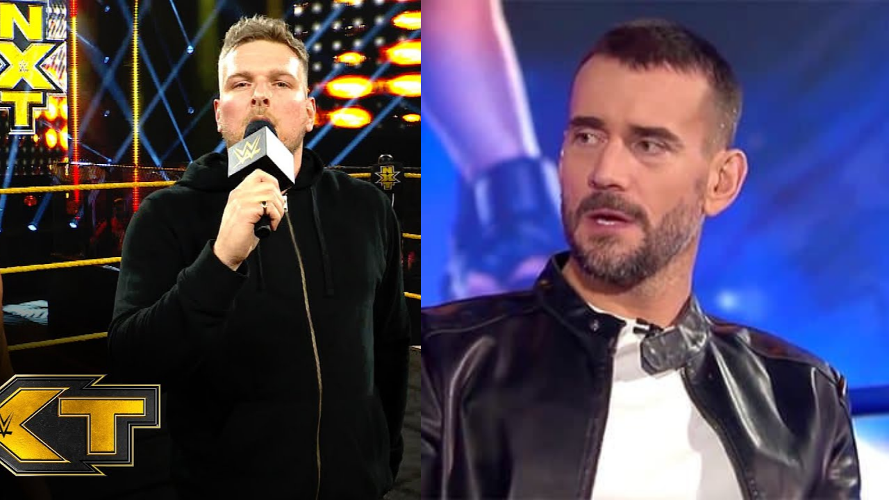 CM Punk claims Pat McAfee is a better promo than everyone else on NXT!