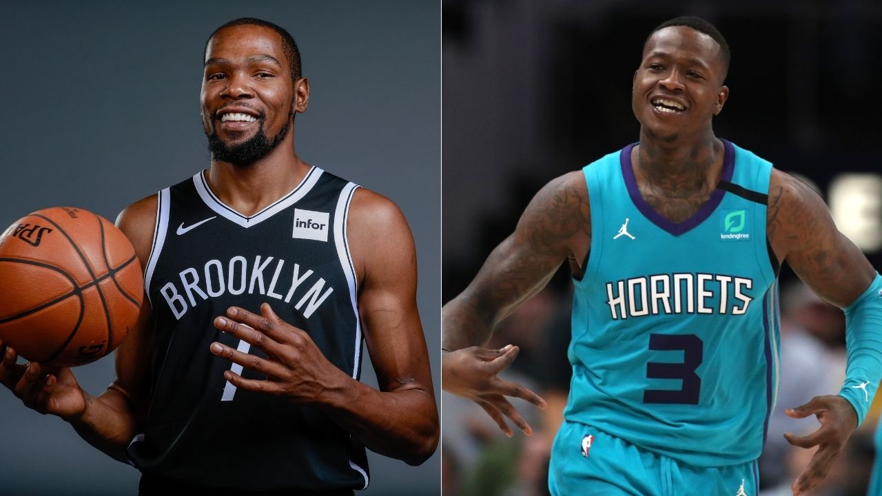"""""""Let's go body for body"""": Terry Rozier takes shots at Kevin Durant following his monster dunk over the Nets superstar"""