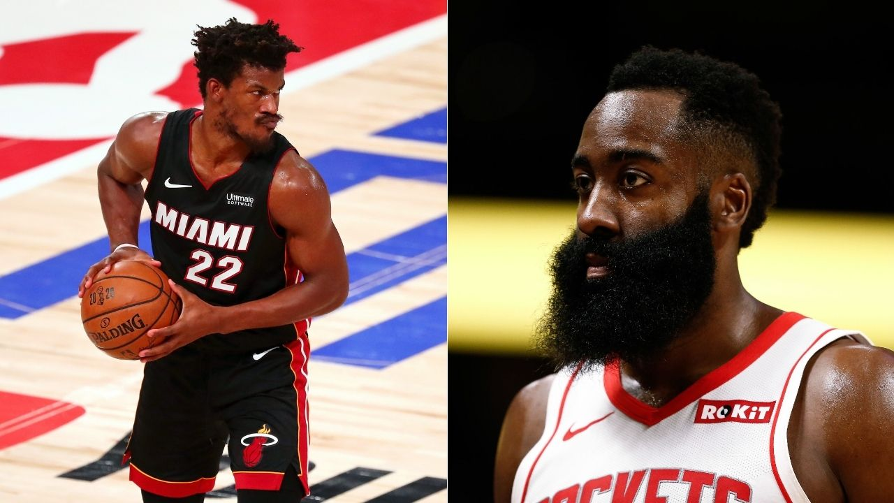 'His beard looks well nourished': Jimmy Butler gives hilarious take on a post about James Harden joining Heat