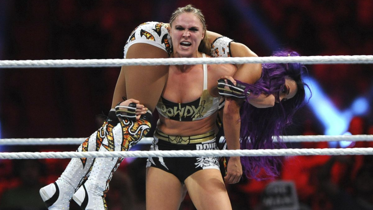 Ronda Rousey recalls the hardest part of being a WWE Star