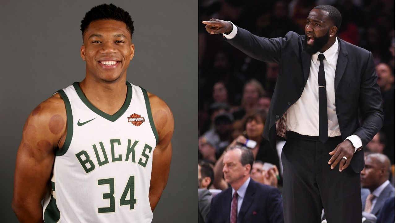 'Giannis Antetokounmpo ran from James Harden and Luka Doncic': Kendrick Perkins' take on Bucks star interjected by Woj's Jayson Tatum comment