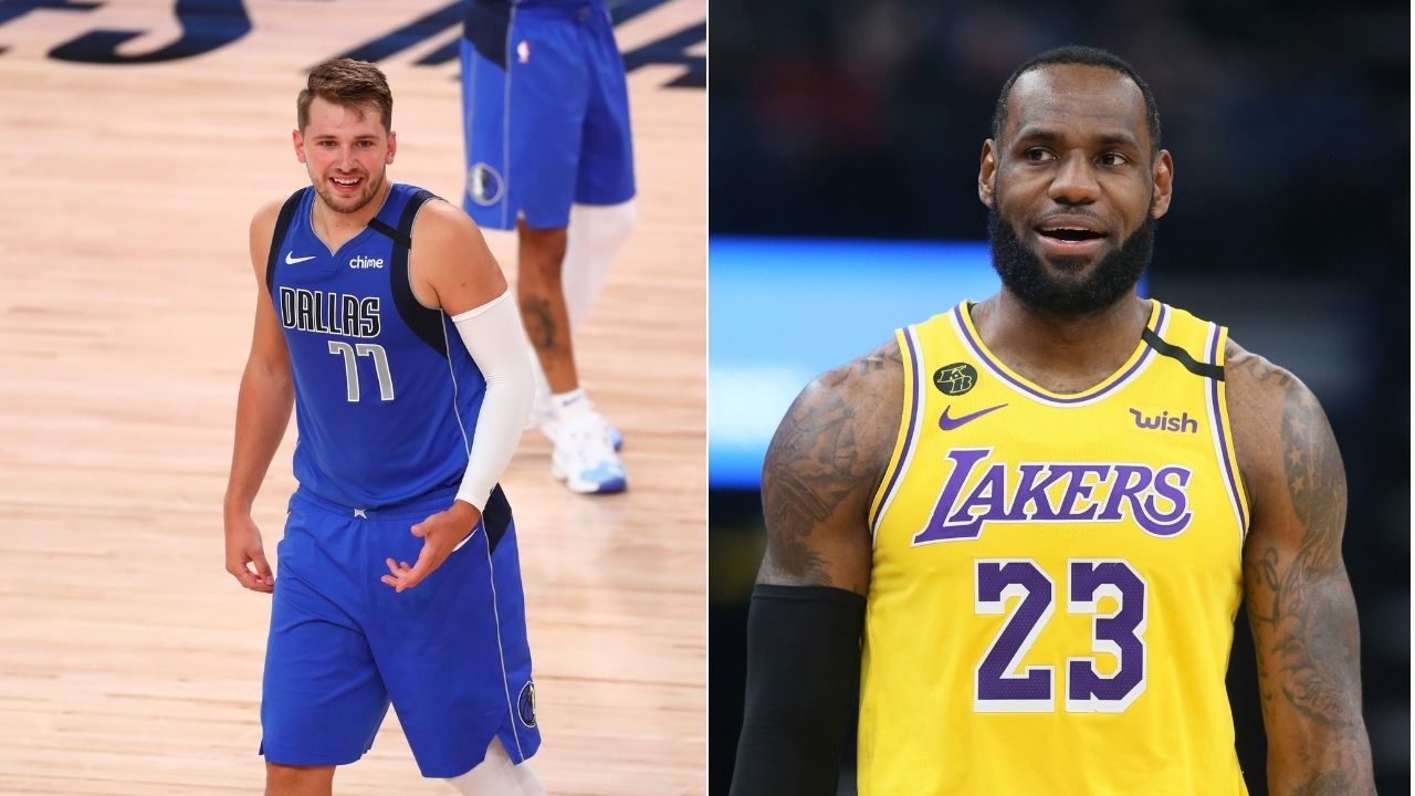 """""""I wanted Luka to be first signee of Team LeBron"""": Lakers' LeBron James reveals botched plans of personal brand"""