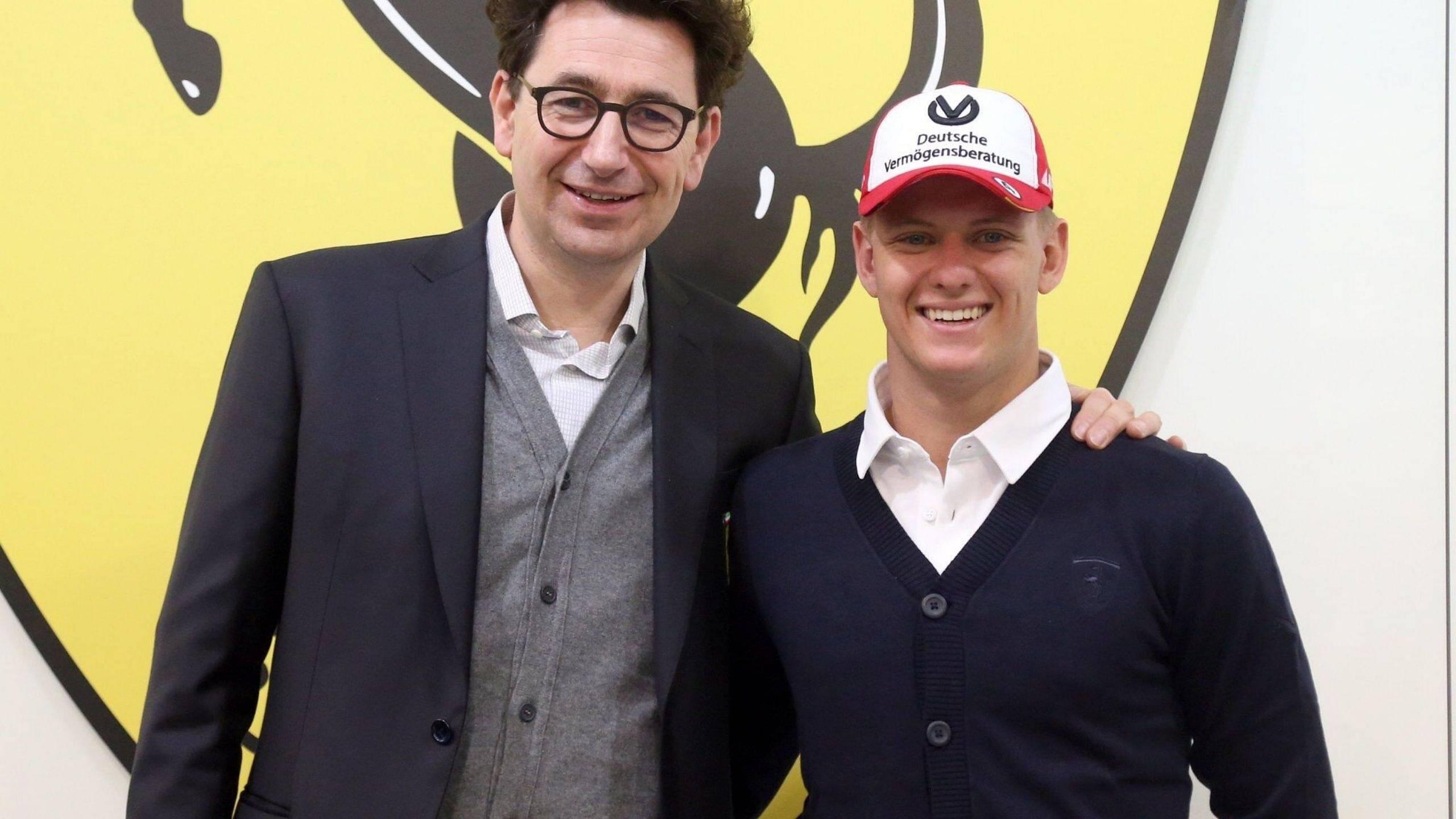 """""""The Ferrari Driver Academy was created to raise the next driver for Ferrari"""" - Mattia Binotto reveals when Mick Schumacher can move to Ferrari"""