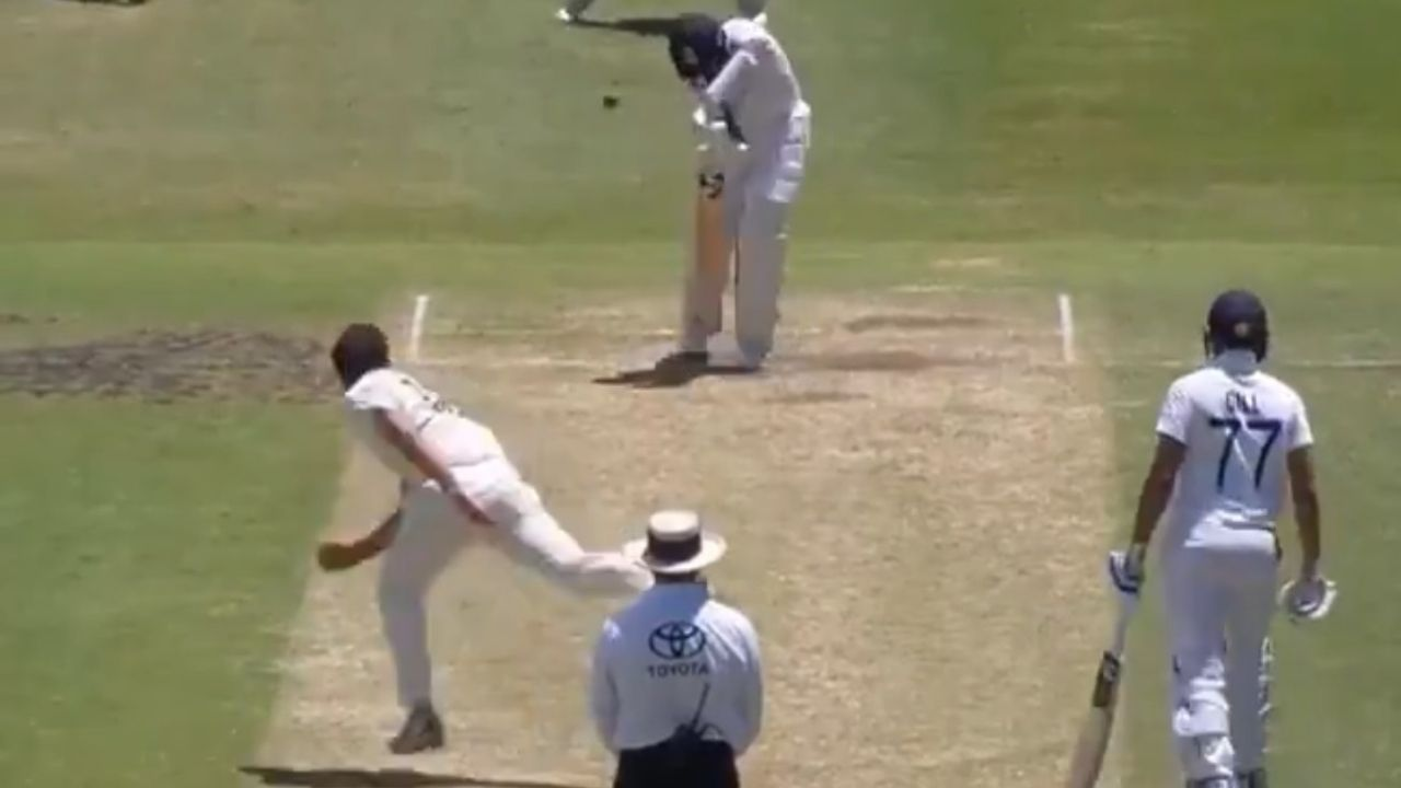 Cheteshwar Pujara dismissal vs Australia A: Watch Michael Neser castles Pujara with a jaffa in tour match