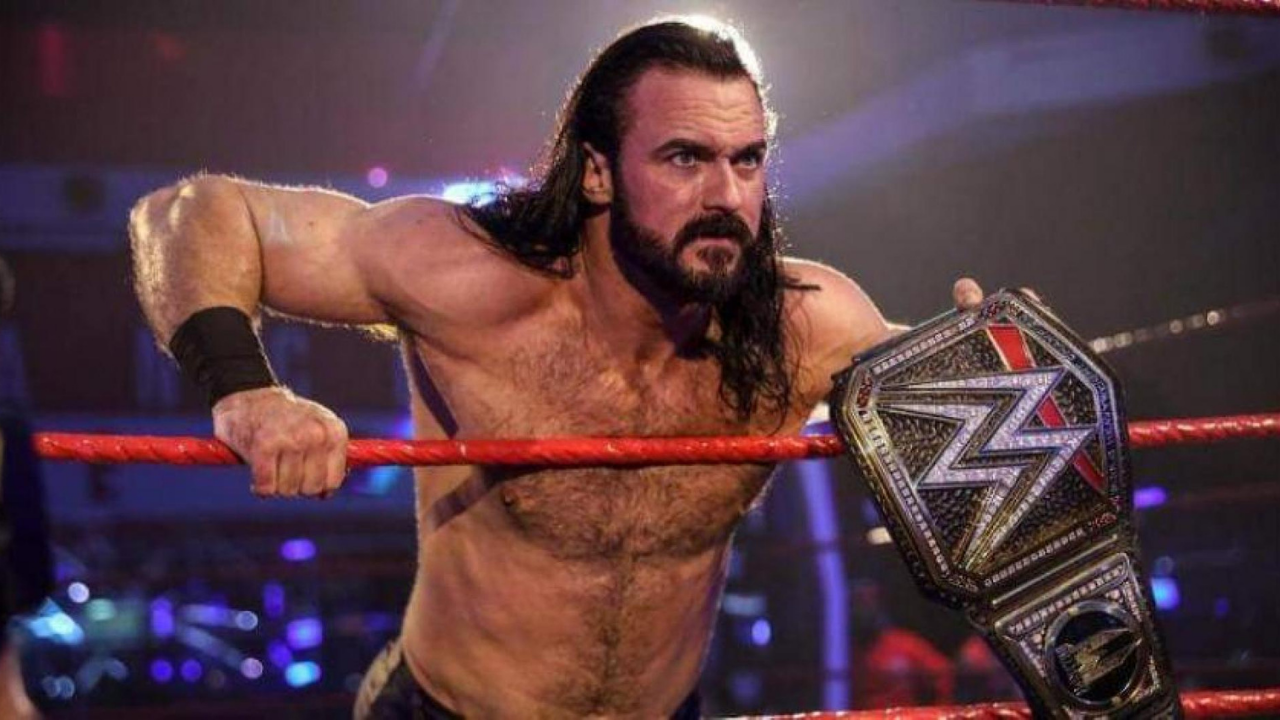 Drew McIntyre responds to criticism of being in the WWE title picture for over a year