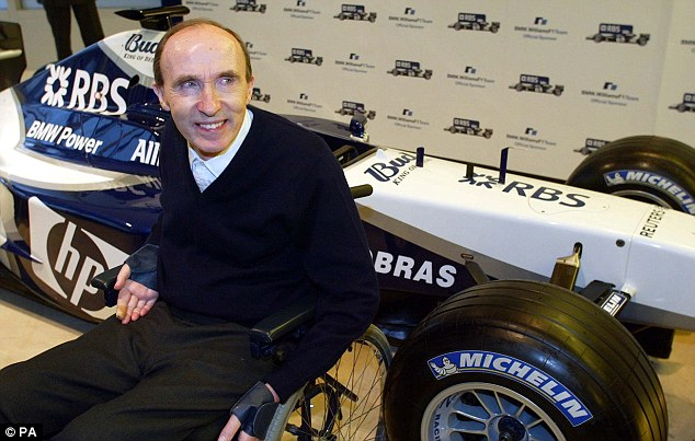 Sir Frank Williams: Legendary former boss of Williams discharged from hospital on Christmas Eve