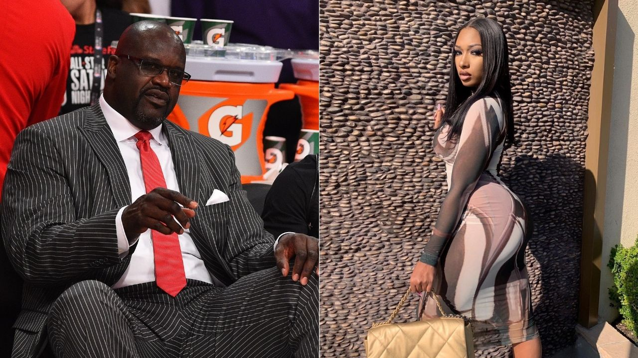 """""""I'm watching that booty"""": Twitter trolls Lakers legend Shaquille O'Neal thirsting for rapper Megan Thee Stallion"""