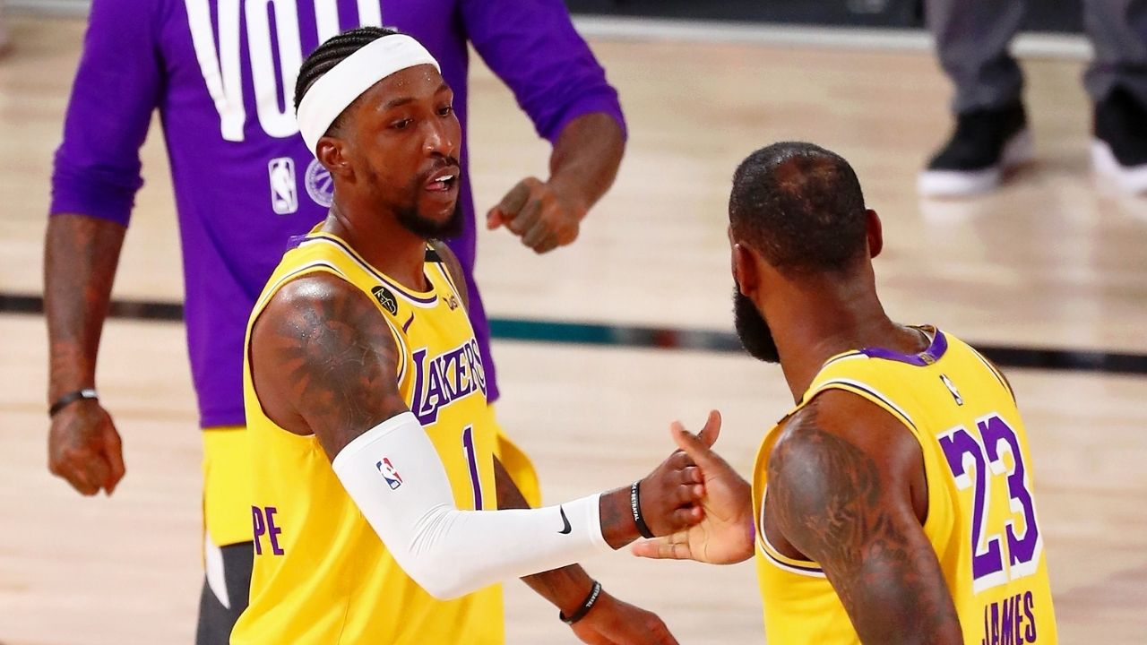 """""""There's a target on our backs, but we'll be ready"""": Kentavious Caldwell-Pope sends warning that LeBron James and Lakers will repeat"""