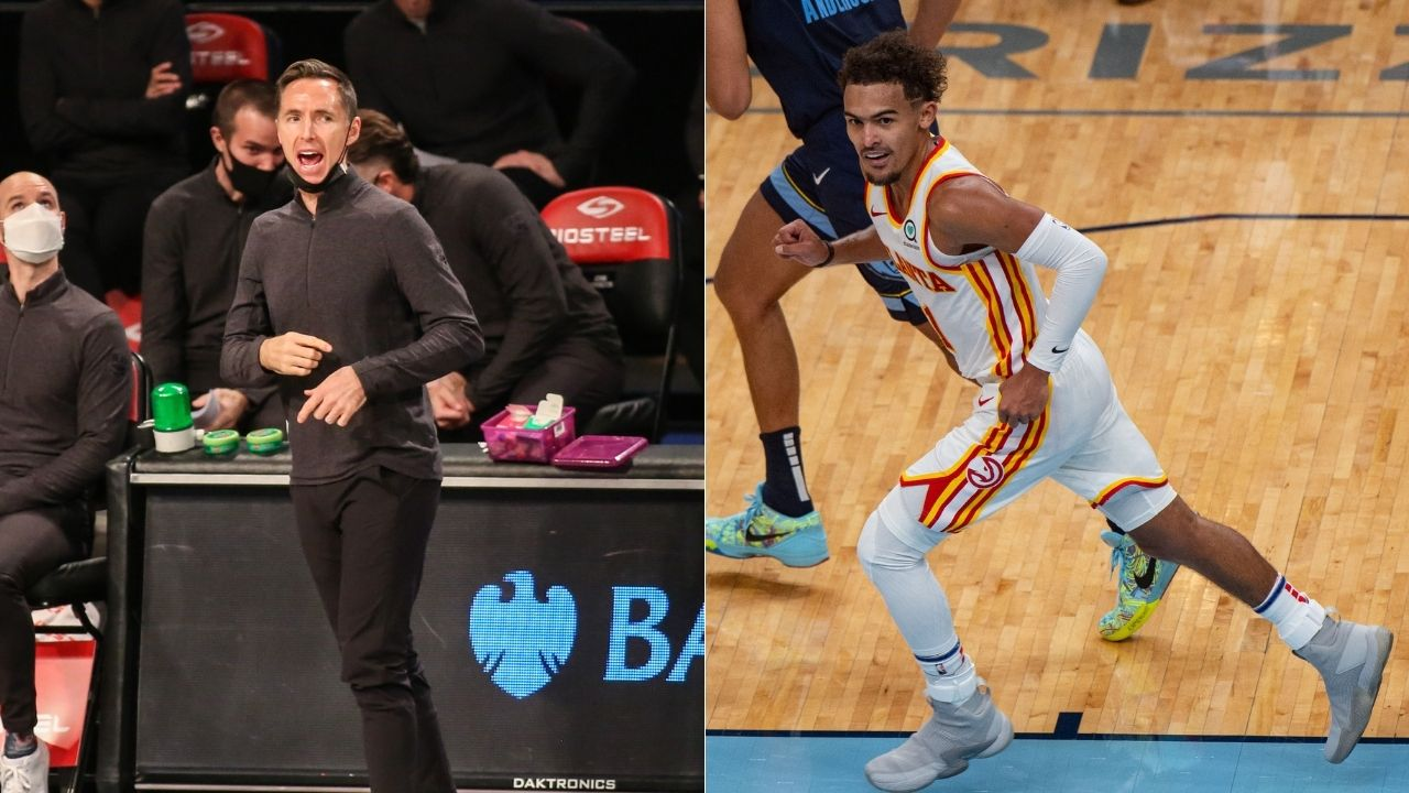 """""""That's not basketball"""": Steve Nash calls out Trae Young for drawing ticky-tacky fouls during Hawks vs Nets"""