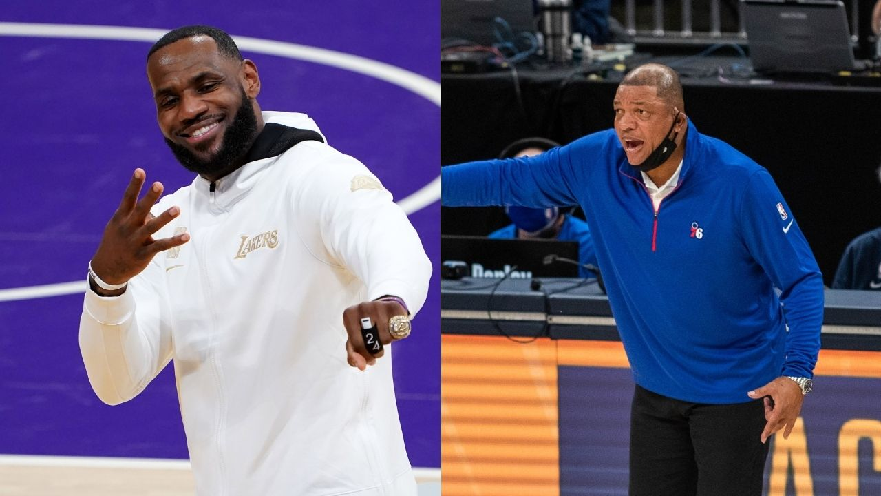 """""""Michael Jordan was allowed to grow into greatness unlike LeBron James"""": Doc Rivers hints at why Lakers star is his GOAT over MJ"""