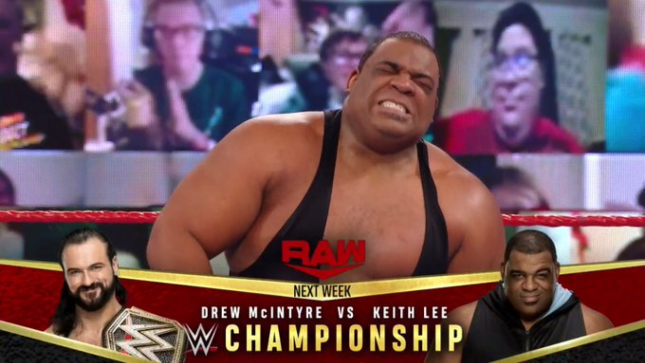 Drew McIntyre vs Keith Lee for WWE Title set at RAW Legends Night