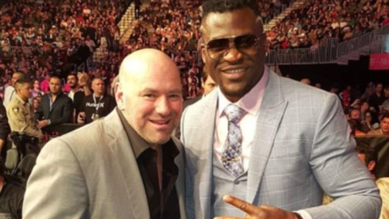 Francis Ngannou acknowledges exponential growth of UFC; Congratulates Dana White