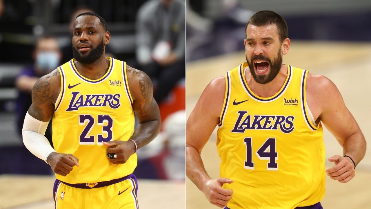 """""""Marc Gasol can see plays before they happen"""": LeBron James explains how new Lakers teammate is very similar to Rajon Rondo as a passer"""