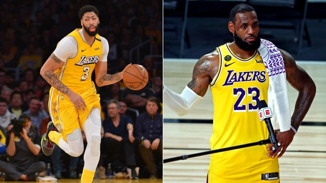 """LeBron James and Anthony Davis are not number 1 and 2"": Skip Bayless dismisses ESPN ranking 2 Lakers at the top"