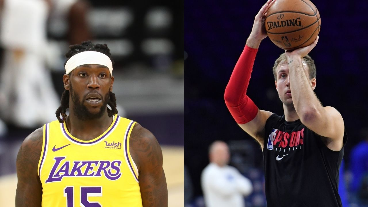 'They pay Luke Kennard not you!': Lakers center Montrezl Harrell reacts to Clippers signing shooter to 4-year, $64 million deal