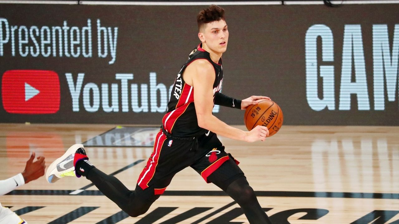 'We are targeted because we're white boys': Heat guard Tyler Herro says opponents target him and Duncan Robinson based on color